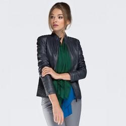 Dámská bunda, tmavě modrá, 87-09-204-7-L, Obrázek 1