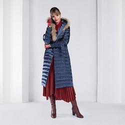 Dámská bunda, tmavě modrá, 89-9D-400-7-2X, Obrázek 1