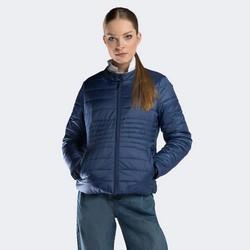 Dámská bunda, tmavě modrá, 90-9N-401-7-S, Obrázek 1
