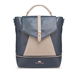 Dámská kabelka, tmavě modrá, 85-4E-362-7, Obrázek 1
