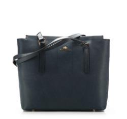 Dámská kabelka, tmavě modrá, 85-4E-442-7, Obrázek 1