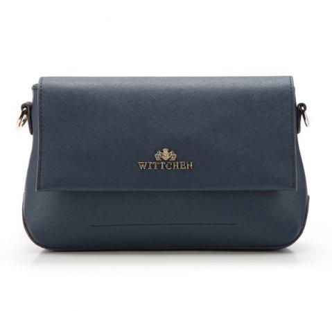 Dámská kabelka, tmavě modrá, 85-4E-443-7, Obrázek 1