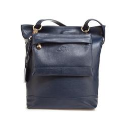 Dámská kabelka, tmavě modrá, 85-4E-504-7, Obrázek 1