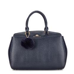 Dámská kabelka, tmavě modrá, 87-4-352-N, Obrázek 1