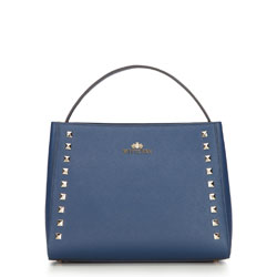 dámská kabelka, tmavě modrá, 87-4-487-N, Obrázek 1