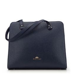 Dámská kabelka, tmavě modrá, 87-4-566-N, Obrázek 1