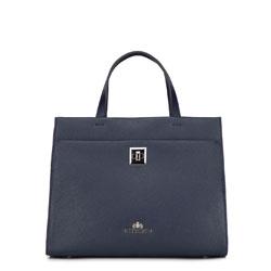 Dámská kabelka, tmavě modrá, 87-4-582-N, Obrázek 1