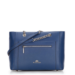 Dámská kabelka, tmavě modrá, 87-4-706-N, Obrázek 1