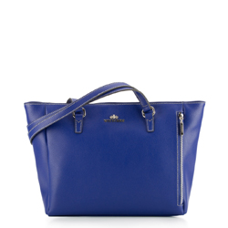 Dámská kabelka, tmavě modrá, 87-4E-418-N, Obrázek 1