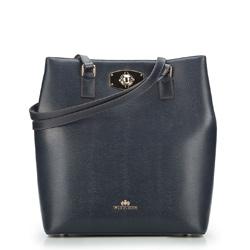 Dámská kabelka, tmavě modrá, 87-4E-427-7, Obrázek 1