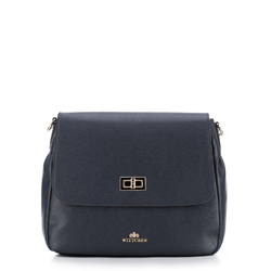 Dámská kabelka, tmavě modrá, 87-4E-433-7, Obrázek 1