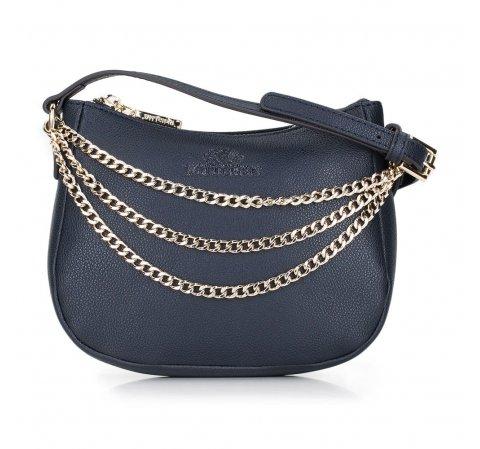 Dámská kabelka, tmavě modrá, 87-4E-435-7, Obrázek 1