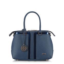 Dámská kabelka, tmavě modrá, 87-4Y-757-7, Obrázek 1