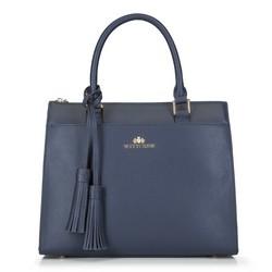 Dámská kabelka, tmavě modrá, 89-4-504-7, Obrázek 1