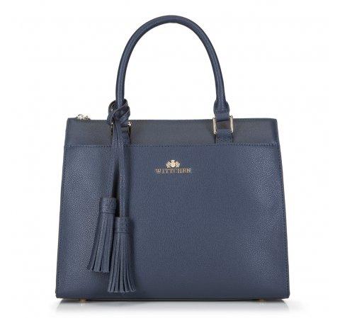 Dámská kabelka, tmavě modrá, 89-4-504-3, Obrázek 1