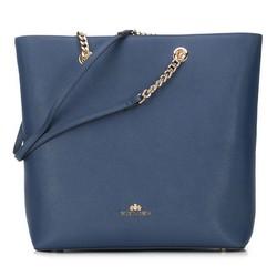 Dámská kabelka, tmavě modrá, 89-4E-400-7, Obrázek 1