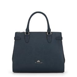 Dámská kabelka, tmavě modrá, 89-4E-410-7, Obrázek 1