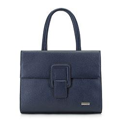 Dámská kabelka, tmavě modrá, 89-4Y-752-7, Obrázek 1
