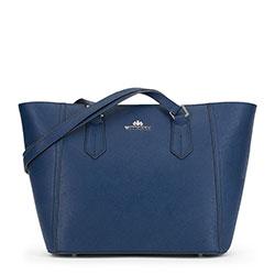 Dámská kabelka, tmavě modrá, 90-4E-608-7, Obrázek 1