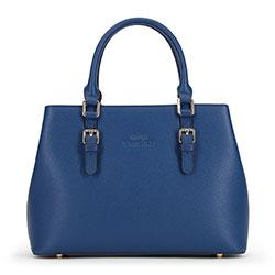 Dámská kabelka, tmavě modrá, 90-4E-609-7, Obrázek 1