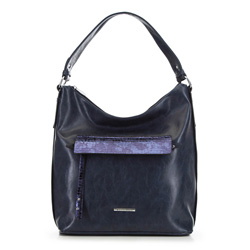 Dámská kabelka, tmavě modrá, 90-4Y-402-7, Obrázek 1
