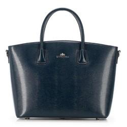 Dámská kabelka, tmavě modrá, 91-4-302-N, Obrázek 1