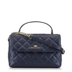 Dámská kabelka, tmavě modrá, 91-4-316-N, Obrázek 1
