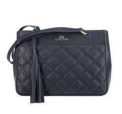 Dámská kabelka, tmavě modrá, 91-4-508-N, Obrázek 1