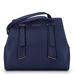 Dámská kabelka, tmavě modrá, 91-4Y-405-7, Obrázek 1