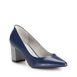Dámská obuv, tmavě modrá, 86-D-557-7-36, Obrázek 1