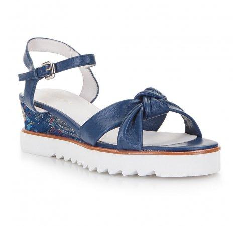 Dámská obuv, tmavě modrá, 86-D-905-7-35, Obrázek 1