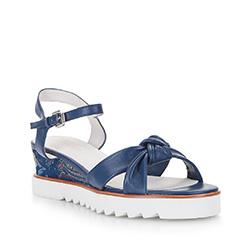 Dámské boty, tmavě modrá, 86-D-905-7-39, Obrázek 1