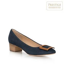 Dámská obuv, tmavě modrá, 90-D-105-7-35, Obrázek 1