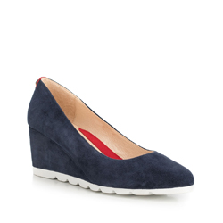 Dámské boty, tmavě modrá, 90-D-904-7-39, Obrázek 1
