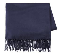 Dámská šála, tmavě modrá, 85-7D-X99-7, Obrázek 1