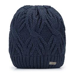 Dámská čepice, tmavě modrá, 93-HF-006-7, Obrázek 1