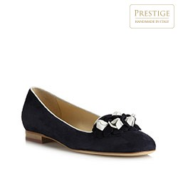 Dámské boty, tmavě modrá, 80-D-123-7-36, Obrázek 1