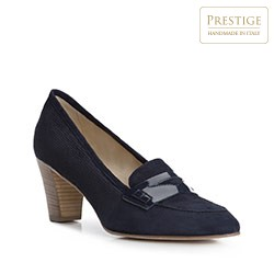 Dámské boty, tmavě modrá, 84-D-104-7-37, Obrázek 1