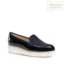 Dámské boty, tmavě modrá, 84-D-111-7-39, Obrázek 1
