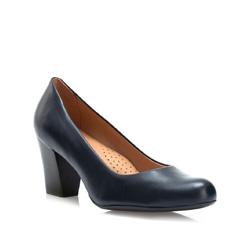 Dámské boty, tmavě modrá, 84-D-720-7-35, Obrázek 1