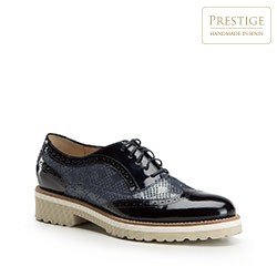 Dámské boty, tmavě modrá, 86-D-100-7-38, Obrázek 1