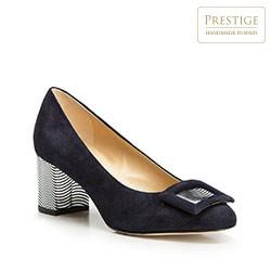 Dámské boty, tmavě modrá, 86-D-106-7-39, Obrázek 1