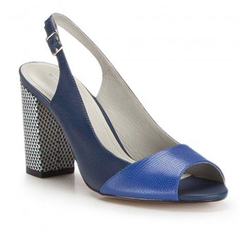 Dámské boty, tmavě modrá, 86-D-555-7-35, Obrázek 1