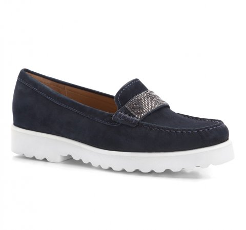 Dámské boty, tmavě modrá, 86-D-700-9-37, Obrázek 1