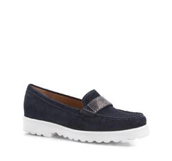 Dámské boty, tmavě modrá, 86-D-700-7-38, Obrázek 1