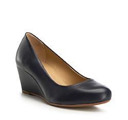 Dámské boty, tmavě modrá, 86-D-707-7-39, Obrázek 1