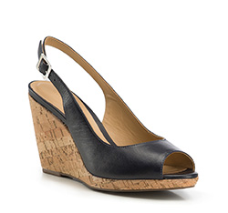 Dámské boty, tmavě modrá, 86-D-710-7-38, Obrázek 1