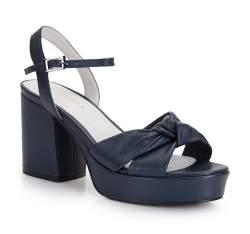Dámské boty, tmavě modrá, 86-D-907-7-39, Obrázek 1