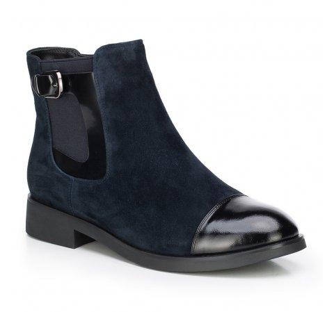 Dámské boty, tmavě modrá, 87-D-956-7-35, Obrázek 1