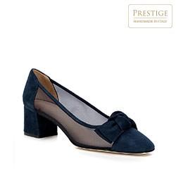 Dámské boty, tmavě modrá, 88-D-101-7-39, Obrázek 1